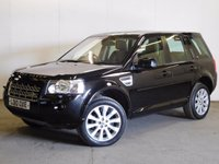 USED 2010 10 LAND ROVER FREELANDER 2 2.2 TD4 SPORT LE 5d AUTO 159 BHP LEATHER CRUISE 4WD. STUNNING BLACK MET WITH PART BLACK LEATHER TRIM. ELECTRIC SEATS. CRUISE CONTROL. 19 INCH ALLOYS. COLOUR CODED TRIMS. PARKING SENSORS. BLUETOOTH PREP. AIR CON. TRIP COMPUTER. R/CD PLAYER. MFSW. TOWBAR. MOT 05/18. SERVICE HISTORY. PRISTINE CONDITION. FCA FINANCE APPROVED DEALER.. TEL: 01937 849492