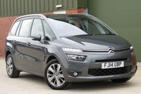 USED 2014 14 CITROEN C4 PICASSO 1.6 GRAND E-HDI AIRDREAM EXCLUSIVE ETG6 5d AUTO 113 BHP AUTOMATIC, SAT NAV, REVERSE CAMERA, PANO ROOF, FULL SERVICE HISTORY