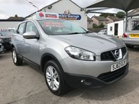 USED 2013 63 NISSAN QASHQAI 1.5 ACENTA DCI 5d 110 BHP Only 43107 miles, Full Nissan history, 12 months MOT & service