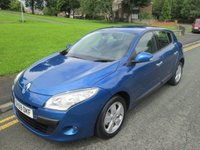 USED 2009 59 RENAULT MEGANE 1.6 DYNAMIQUE VVT 5d 110 BHP 47,000 GUARANTEED MILES - SERVICE HISTORY - EXCELLENT CONDITION