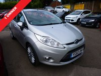 USED 2010 60 FORD FIESTA 1.6 TITANIUM 5d 118 BHP THIS VEHICLE IS AT SITE 1 - TO VIEW CALL US ON 01903 892224