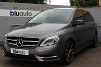 2014 MERCEDES-BENZ B 180 1.5 CDI BLUE EFFICIENCY SPORT 5d AUTO  £14750.00