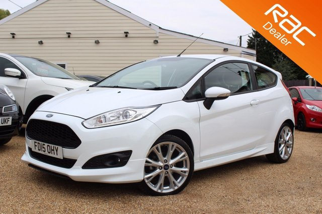 View our 2015 15 FORD FIESTA 1.0 ZETEC S 3d 124 BHP