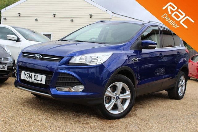 View our 2014 14 FORD KUGA 2.0 ZETEC TDCI 5d AUTO 138 BHP