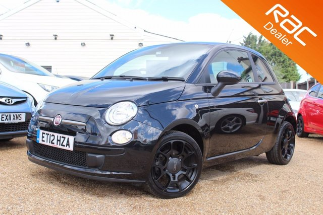 View our 2012 12 FIAT 500 0.9 TWINAIR PLUS 3d 85 BHP