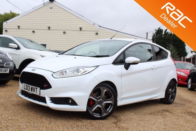 View our 2013 13 FORD FIESTA 1.6 ST-2 3d 180 BHP