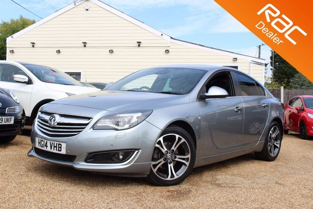 View our 2014 14 VAUXHALL INSIGNIA 2.0 LIMITED EDITION CDTI ECOFLEX S/S 5d 138 BHP