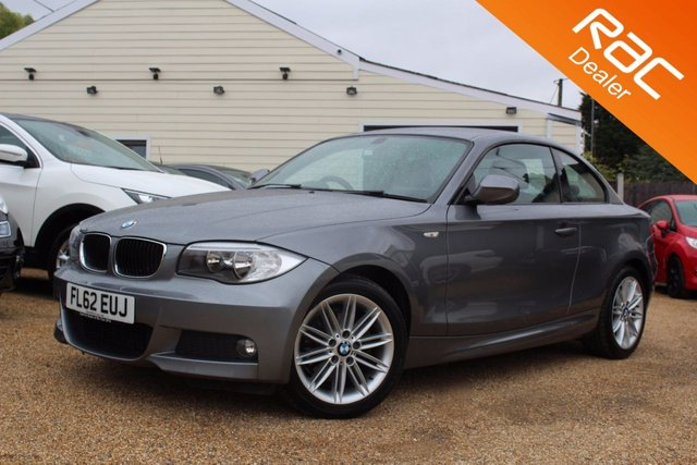View our 2012 62 BMW 1 SERIES 2.0 118D M SPORT 2d 141 BHP