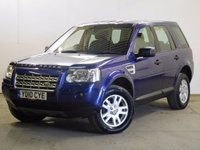 USED 2010 10 LAND ROVER FREELANDER 2 2.2 TD4 E XS 5d 159 BHP SAT NAV LEATHER ONE OWNER FSH 4WD. SATELLITE NAVIGATION. STUNNING BLUE MET WITH PART BLACK LEATHER TRIM. ELECTRIC HEATED SEATS. CRUISE CONTROL. 17 INCH ALLOYS. COLOUR CODED TRIMS. PARKING SENSORS. BLUETOOTH PREP. AIR CON. TRIP COMPUTER. R/CD PLAYER. 6 SPEED MANUAL. MFSW. MOT 03/18. ONE OWNER FROM NEW. FULL SERVICE HISTORY. PRISTINE CONDITION. FCA FINANCE APPROVED DEALER.. TEL: 01937 849492