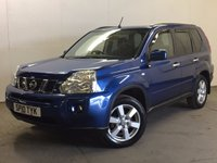 USED 2010 10 NISSAN X-TRAIL 2.0 ACENTA DCI 5d 171 BHP PAN ROOF AIR CON ALLOYS FSH 4WD. PANORAMIC SUNROOF. STUNNING BLUE MET WITH BLACK CLOTH TRIM. CRUISE CONTROL. 17 INCH ALLOYS. COLOUR CODED TRIMS. PRIVACY GLASS. BLUETOOTH PREP. CLIMATE CONTROL. TRIP COMPUTER. R/CD PLAYER. 6 SPEED MANUAL. MFSW. TOWBAR. MOT 03/18. ONE PREV OWNER. FULL SERVICE HISTORY. PRISTINE CONDITION. FCA FINANCE APPROVED DEALER. TEL 01937 849492.
