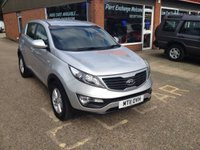 USED 2011 11 KIA SPORTAGE 1.7 CRDI 1 5d 114 BHP NEW SHAPE MANUAL IN SILVER APPROVED CARS ARE PLEASED TO OFFER THIS  KIA SPORTAGE 1.7 CRDI 1 5 DOOR DIESEL 114 BHP NEW SHAPE MANUAL IN SILVER A STUNNING CAR WITH A FULL SERVICE HISTORY SERVICED AT19K,36K,51K,61K AND 81KAND A GREAT SPEC INCLUDING MULTI FUNCTION STEERING WHEEL AND ALLOYS.