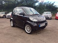 USED 2009 59 SMART FORTWO 0.8 PASSION CDI 2d AUTOMATIC... PART EXCHANGE TO CLEAR PART EXCHANGE TO CLEAR