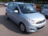 USED 2011 61 HYUNDAI I10 1.2 ACTIVE 5d 85 BHP ***Excellent economy - reliable family car  -  Service history  - Excellent Spec !!!