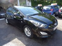 USED 2013 63 HYUNDAI I30 1.6 ACTIVE BLUE DRIVE CRDI 5d 109 BHP Comprehensive Service History, One Owner from new, MOT until May 2018, Superb on fuel! FREE Road Tax! Diesel