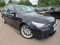 2009 BMW 5 SERIES 2.0 520D M SPORT BUSINESS EDITION TOURING 5d AUTO 175 BHP £7995.00