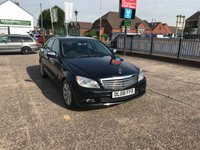 USED 2008 08 MERCEDES-BENZ C CLASS 2.1 C200 CDI SE 4d 135 BHP Only 29,000 Miles-Service History-Demo + 1 Owner-Diesel-Manual