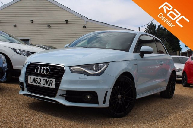 View our 2012 62 AUDI A1 1.4 TFSI S LINE 3d 122 BHP