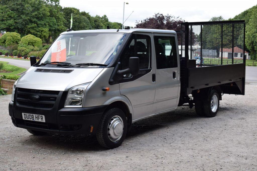 2008 ford transit 350 lwb dcc £7,450