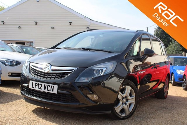 View our 2012 12 VAUXHALL ZAFIRA TOURER 2.0 EXCLUSIV CDTI 5d AUTO 162 BHP