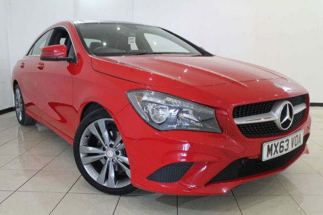 View our 2013 63 MERCEDES-BENZ CLA 1.6 CLA180 SPORT 4DR 122 BHP