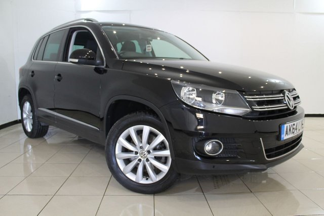 View our 2014 64 VOLKSWAGEN TIGUAN 2.0 MATCH TDI BLUEMOTION TECHNOLOGY 4MOTION 5DR 139 BHP
