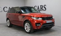 """USED 2013 63 LAND ROVER RANGE ROVER SPORT 3.0 SDV6 AUTOBIOGRAPHY DYNAMIC 5d AUTO 288 BHP DEPLOYABLE STEPS PAN ROOF 21"""""""