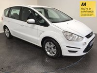 USED 2012 12 FORD S-MAX 1.6 ZETEC 5d 158 BHP HISTORY-BLUETOOTH-7 SEATS-ISOFIX