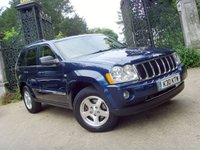 2006 JEEP GRAND CHEROKEE 3.0 V6 CRD LIMITED 5d AUTO 215 BHP £3999.00
