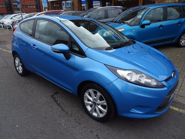 2009 59 FORD FIESTA 1.2 STYLE PLUS 3d 81 BHP VISION BLUE/GRAPHITE TRIM