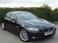 USED 2012 12 BMW 5 SERIES 3.0 535D SE 4d AUTOMATIC 309 BHP OVER £19000 WORTH OF FACTORY FITTED EXTRAS