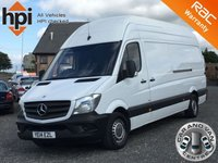 2014 MERCEDES-BENZ SPRINTER 2.1 313 CDI SUPER EXTRA HIGH ROOF LWB BlueEFFICIENCY £9490.00
