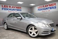 USED 2012 12 MERCEDES-BENZ E CLASS 2.1 E220 CDI BLUEEFFICIENCY EXECUTIVE SE 4d AUTO 170 BHP Sat Nav , Full Leather , Cruise control