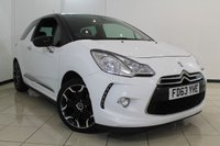 USED 2014 63 CITROEN DS3 1.6 E-HDI DSTYLE PLUS 3DR 90 BHP CLIMATE CONTROL + PARKING SENSOR + BLUETOOTH + CRUISE CONTROL + 17 INCH ALLOY WHEELS