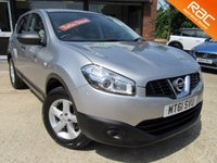 USED 2011 61 NISSAN QASHQAI 1.5 VISIA DCI 5d 110 BHP ONE  PREVIOUS OWNER, ALLOYS, AIR CON, RAC INSPECTED, FULL SERVICE HISTORY