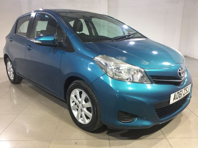 View our 2012 61 TOYOTA YARIS 1.3 VVT-I TR 5d 98 BHP