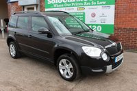 USED 2013 13 SKODA YETI 1.6 ELEGANCE GREENLINE II TDI CR 5d 103 BHP +Heated LEATHER +LOW Tax +NAV.