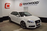 USED 2011 61 AUDI A3 2.0 TDI S LINE BLACK EDITION 3d 138 BHP 18 INCH ROTOR ALLOY WHEELS