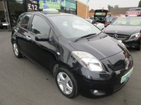 USED 2010 60 TOYOTA YARIS 1.3 TR VVT-I MM 5d AUTO 99 BHP 12 MONTHS MOT... 3 MONTHS WARRANTY... AUTOMATIC