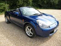 USED 2002 02 TOYOTA MR2 1.8 ROADSTER 2d 138 BHP Full Leather Seats, Full Service History. Great Mileage