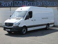 2014 MERCEDES-BENZ SPRINTER 313 CDI Sprinter XLWB Van 2.1 130 BHP 2014 (14) Plate £13995.00