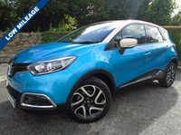 USED 2014 64 RENAULT CAPTUR 1.5 DYNAMIQUE S MEDIANAV ENERGY DCI S/S 5d 90 BHP ** 1 OWNER + SAT NAV + CRUISE **