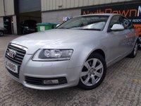 USED 2009 AUDI A6 2.0 TFSI SE 4d AUTO 168 BHP Large Family Auto Saloon, Finance Available