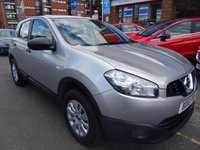 USED 2010 10 NISSAN QASHQAI 1.5 VISIA PURE DRIVE DCI 5d 105 BHP  BLADE SILVER/CHARCOAL FABRIC