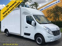 USED 2013 13 RENAULT MASTER 2.3 LL35 DCI 125 Low Loader Luton LWB Van Low Mileage Free UK Delivery