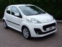 USED 2012 PEUGEOT 107 1.0 ACTIVE 5d 68 BHP