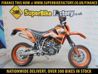 USED 2005 05 KTM SUPERMOTO 660 GOOD & BAD CREDIT ACCEPTED, OVER 500+ BIKES