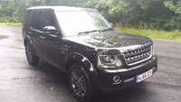 2016 LAND ROVER DISCOVERY 4 3.0 SDV6 GRAPHITE 5d AUTO 255 BHP £SOLD