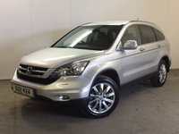 USED 2009 59 HONDA CR-V 2.2 I-CTDI EX 5d 139 BHP SAT NAV PAN ROOF LEATHER ONE OWNER FSH NOW SOLD.