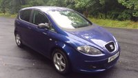2006 SEAT ALTEA 1.6 REFERENCE SPORT 5d 101 BHP £1990.00