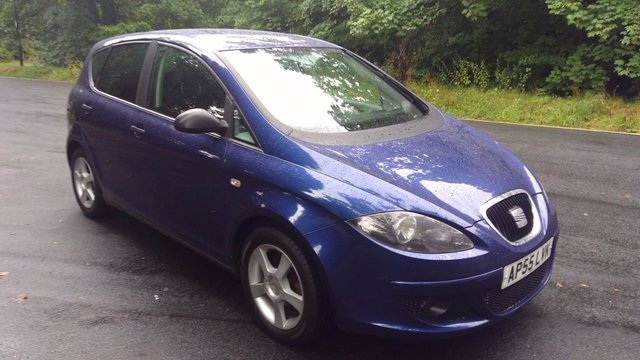 2006 55 SEAT ALTEA 1.6 REFERENCE SPORT 5d 101 BHP